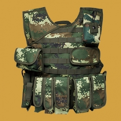 Camouflage Military Tactical Bulletproof Vest