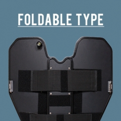 Folding Ballistic Shield