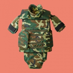 Armed Camouflage Full-protection Tactical Bulletproof Vest
